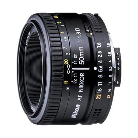 Nikon Obiettivo Nikkor AF 50 mm f/1.8D, Nero [Versione EU]