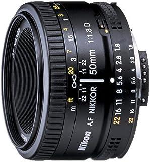 Nikon 2137 Nikor Lens AF Nikkor 50mm f/1.8D for Nikon DSLR Cameras