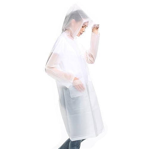 Unisex Raincoat Outdoor Portable Waterproof Travel Adult Reusable Rainwear N3