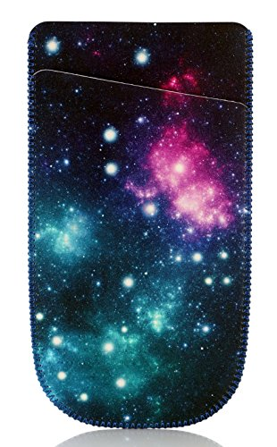 TopGrit Soft Carrying Case Compatible with Texas Instruments TI-84 / Plus CE Graphing Calculator, Galaxy Pattern Photo #7