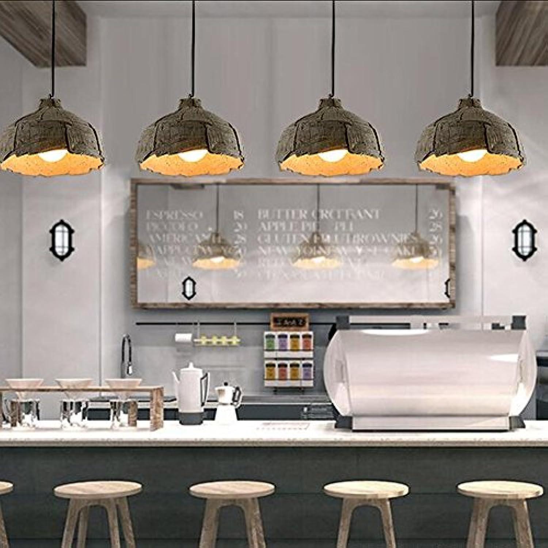 Pendelleuchte Betonlampe Textilkabel Beton-Hell Minimalistischen Modernen Hngelampe LOFT Hngeleuchte Innenleuchte 1E27 15.5cm 32cm [Energieklasse A+] (Beton-Hell, 32 cm)