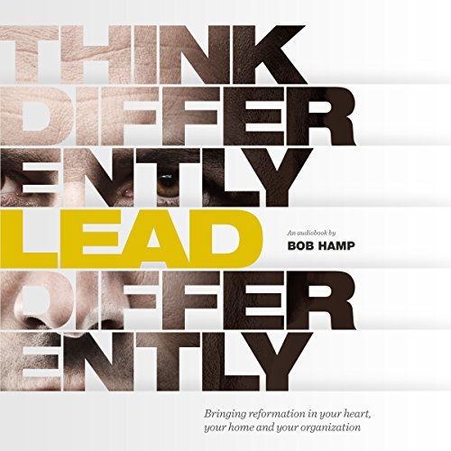 Think Differently Lead Differently audiobook cover art