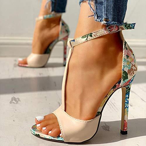 Lente Damesschoenen Mode Zomer Sexy Hoge Hakken Dames Stiletto Super Hoge Hak Sandalen