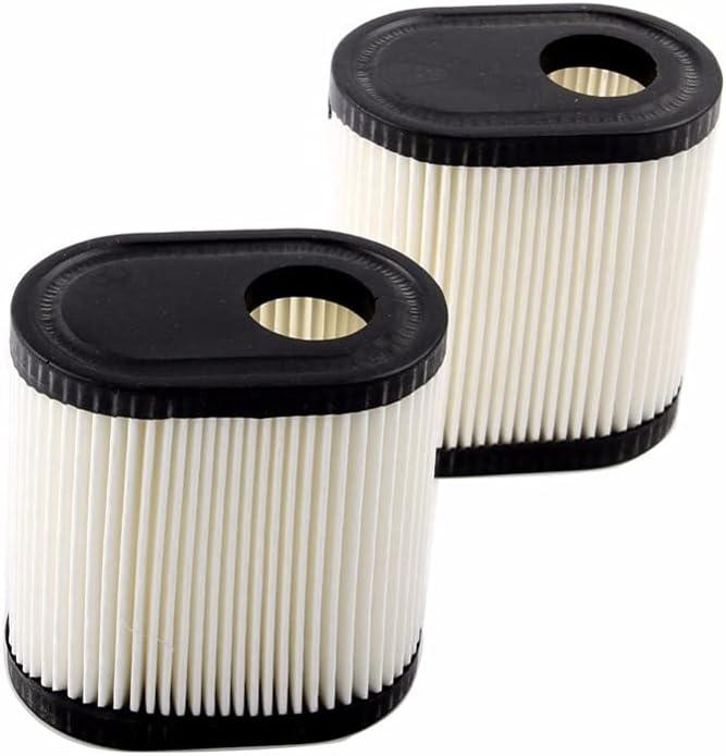 Filtro de aire para cortacésped Filtro de aire de 2 piezas Compatible con TECUMSEH 36905 Reemplazo compatible con Toro Garden Cortacésped Césped Cortacésped con máquina cortadora de césped Filtrar