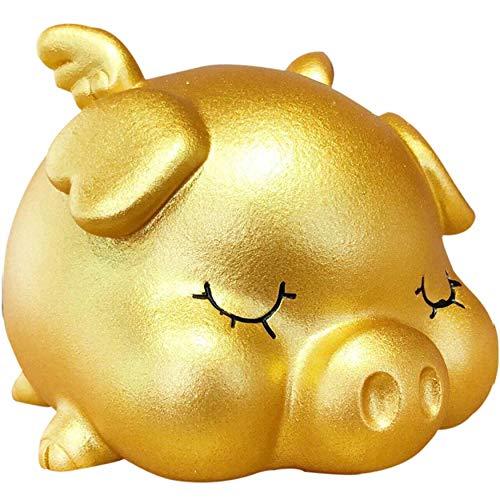 金運アップ 金運 豚 豚の貯金箱 500円玉貯金箱 貯金箱 おもしろ 賽銭箱 箱 募金箱 お土産 日本 運気向上 中 14*15*12.5cm