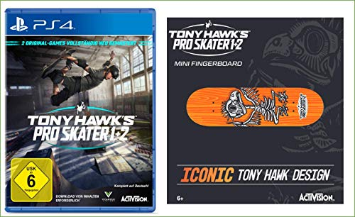 TONY HAWK´S Pro Skater 1+2 - [PlayStation 4] + Bonus
