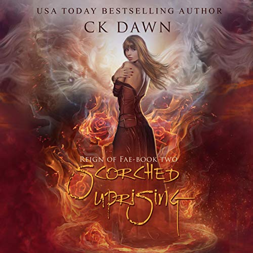 Scorched Uprising audiobook cover art