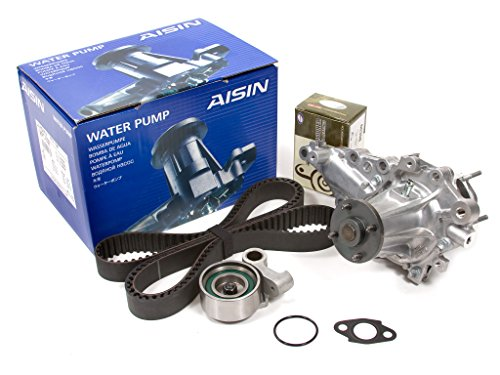 Evergreen TBK215WPA2 Compatible With 08/97-2005 Lexus IS300 GS300 3.0L 2JZGE Timing Belt Kit AISIN Water Pump