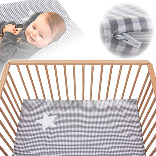 PlayPen Mattress (100 x 100 cm) + Carry Bag (100% Cotton)
