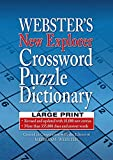 Best Crossword Puzzle Dictionaries - Webster's New Explorer Crossword Puzzle Dictionary LARGE PRINT Review