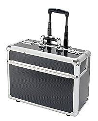 Alumaxx Case Alumaxx 45129 Pilot Case C-2 48 cm 40 Liters Silver (Carbon) 8960120