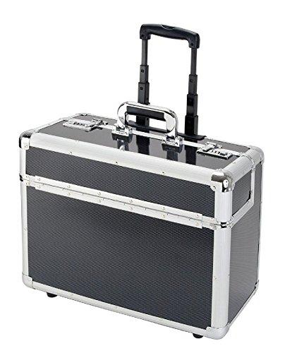 Alumaxx koffer Alumaxx 45129-Pilotenkoffer C-2 48 cm 40 liter zilver (carbon) 8960120