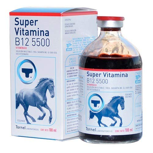 Vitamina B12 5500 100ml Horses Aves Gamefowl