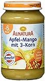 Alnatura Apfel Mango+3Korn, 6er Pack (6 x 190 g) -