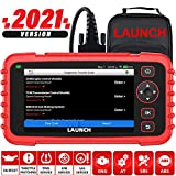 LAUNCH OBD2 Scanner CRP129X - 2021 Newest Scan Tool for ENG/ABS/SRS/Transmission Code Reader, Oil/EPB/SAS/TPMS Reset Throttle Matching Diagnostic Tool Android 7.0 AutoVIN WiFi Lifetime Free Update