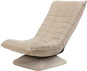 DBSCD Children s Mini Sofa Children  nbsp Chaise  Folding Rotary  Constant mode Children s Furniture for Living Room Bedroom-Kaki 57x56x80cm  22x22x31inch