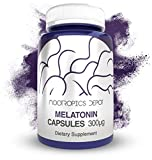 Melatonin Capsules | 300mcg | 120 Pills | Supports Healthy Sleep Cycles | Promotes Relaxation |...