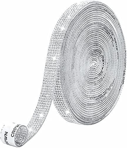 Autoadhesiva de Pegatinas Diamantes de Imitación Cristal Pegatinas de DIY costura con...