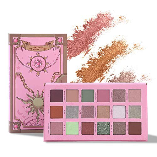 Jooayou Magic Spell Professionale Palette Ombretti,18 Color Palette