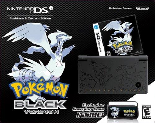 Pokemon Black Version Bundle - Nintendo DSi [video game]