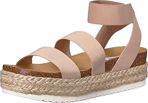 Steve Madden Women's Kimmie Wedge Sandal, Blush, 6 M US