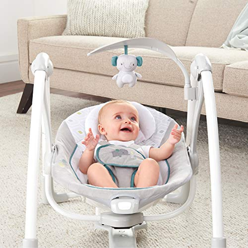 51qZBWbGt5L The Best Ingenuity Baby Swings for 2021 [Compared & Review]