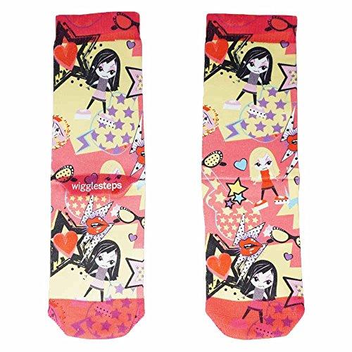 Wigglesteps Kinder Socken - 7-9 Jahre - Star (4010-00687-660)