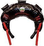 Bulgarian Bag - New Black PVC - Suples - The Original (Fitness, Crossfit, Wrestling, Judo, Grappling, Functional Training, MMA, Sandbag, Training Bag, Weighted Bag, Weight Bag) (30)