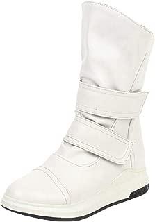 VulusValas Women Flat Ankle Boots