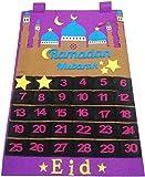Calendario Dell'Avvento 2021 Decorazione Ramadan, Calendario Ramadan, Calendario Ramadan 30 Giorni Arazzo Eid Mubarak, Conto Alla Rovescia Per Bambini, Decorazione Ramadan,