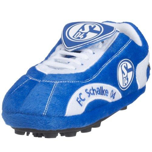 Sloffie Fan-Hausschuh, FC Schalke 04 Gr. 28-31 blau