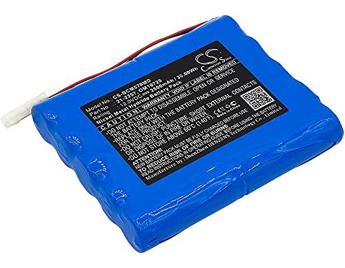 Batería de repuesto para bomba de infusión BCI CADD TPN 5700, bomba de infusión TPN 5700 12V/2500mA