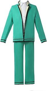Nuoqi Saiki Kusuo no Psi Nan Cosplay Costume Mens Anime Upgrade Student Suit Full Set