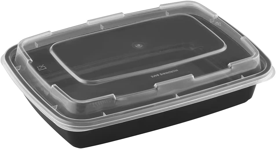 TIYA Takeout Gifts Containers - Rectangular Plastic Food At the price of surprise Reu Storage