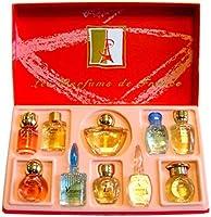 Charrier Parfums Lote de 10 miniaturas de perfumes, 57 ml en total