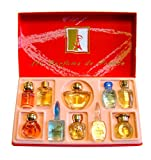 Charrier Parfums Luxe Coffret Top Ten de 10 Eau de Parfums Miniatures Total 57 ml