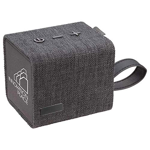 Great Features Of Custom Fortune Fabric Bluetooth Speaker- Speaker (Black) - 100 PCS - $34.78/EA - P...