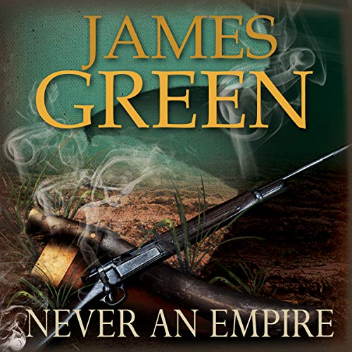 Never an Empire audiobook cover art