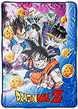 Dragon Ball Z GE-57756 Group Galaxy Throw Blanket, 46 x 60'