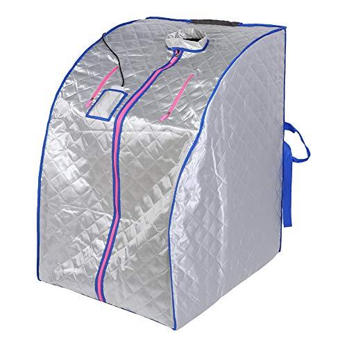 CHENGGONG Carpa de Vapor para Adelgazar del Cuerpo de Tela de Aislamiento térmico Impermeable Antifugas Control Remoto Carpa de Vapor Salón Familia para el hogar Salas de Vapor(#1)