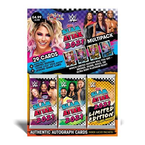 Topps WWE Slam Attax 2021 - Multipack - Alexa Bliss (Blue)