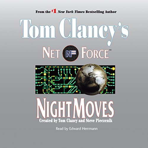 Tom Clancy's Net Force #3: Night Moves audiobook cover art
