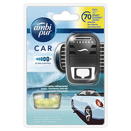 Ambi Pur Car Torrente Refrescante Difusor Y Fragancia para Ambientador - 7ml