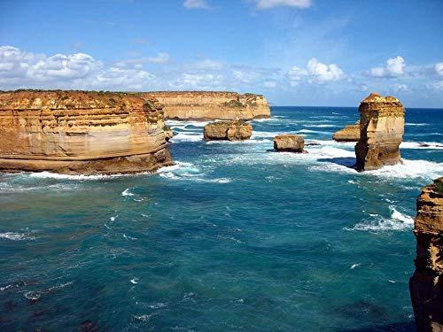 Puzzle Puzzle 1000 Pezzi La Great Ocean Road Melbourne in Australia per Un Amico Adulto