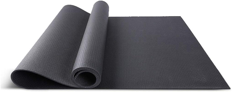 Yoga Mat PVC Yoga Mat Thickening Widening Long Men and Women Beginners Environmental Predection Yoga Fitness Mat ThreePiece Slip QYSZYG