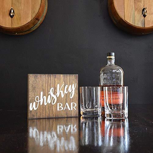 onbekend Wall Art Whiskey Bar Sign | Cadeau voor papa | Whiskey gift | Keuken decor | Bar Decor | Whiskey Sign | Bar borden | Whiskey decor | Whiskey art Wood Plaque, Custom Gift