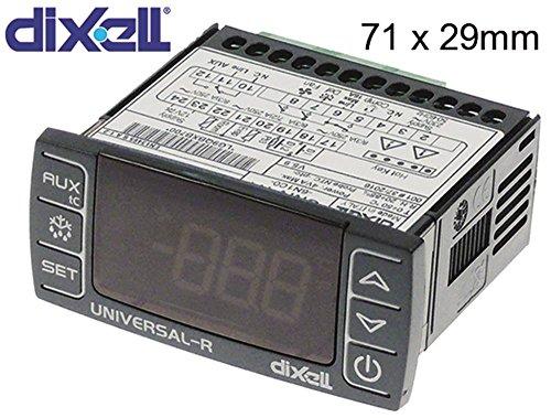 dixell regolatore elettronico universale della R4Incasso misura 71X 29mm 230/12V AC/DC