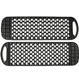 CALALEIE Une paire de pistes de récupération de pistes de sable noires Ladder de pneus for VTT sur route en voiture Outil de pièces auto