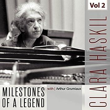 Clara Haskil - Milestones of a Legend, Vol. 2