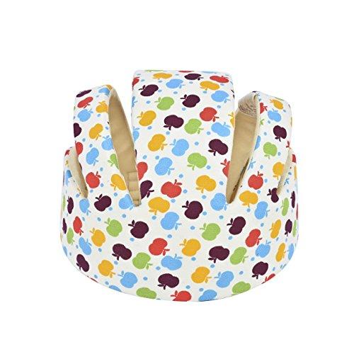 magiin casco seguridad bebé niño bien protección la tete de bebé doméstico para marcha Adjustable antigolpes blanco blanco